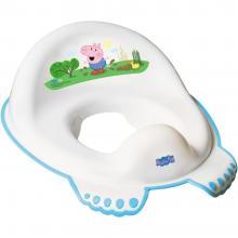 Reductor pentru toaleta Tega Baby, Peppa Pig, Albastru