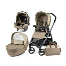 Carucior 3 In 1, Peg Perego, Book Plus S Black Class