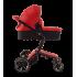 Cărucior Bebumi 3în1(culoare roșie)