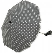Umbrela pentru carucior 70 cm UV 50+ DOT Grey Fillikid