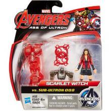Mini Figurine Avengers - Scarlet Witch vs Sub Ultron 008
