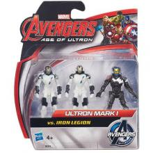 Mini Figurine Avengers - Ultron Mark vs Iron Legion