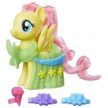 Figurina My Little Pony cu Accesorii de Gala Fluttershy