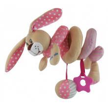 Spirala cu Jucarii Pink Bunny