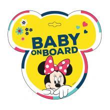 Semn de Avertizare Baby on Board Minnie Seven
