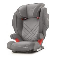 Scaun Auto Pentru Copii cu Isofix Monza Nova 2 Aluminium Grey