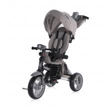 Tricicleta multifunctionala 4in1, Enduro, scaun rotativ, Grey Luxe