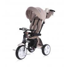 Tricicleta multifunctionala 4in1, Enduro, scaun rotativ, Ivory