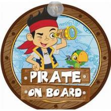 Semn de Avertizare Pirate on Board Jake Disney Eurasia