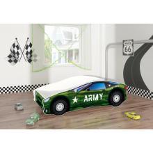 Pat Tineret MyKids Race Car 07 Army-160x80
