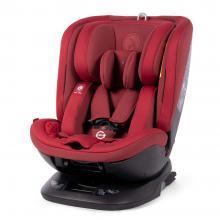 Scaun auto rotativ Rear Facing cu Isofix si centura Top Tether Logos rosu 0-36 kg Coletto