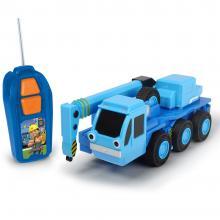 Camion Dickie Toys Bob Constructorul Lofty cu telecomanda