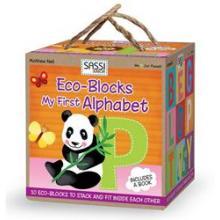 Sassi Eco Blocks Primul Meu Alfabet