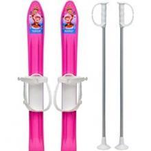 Skiuri Copii 60 cm Marmat Roz