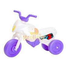 Tricicleta Enduro Mini Alb-Mov