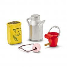 Set accesorii Schleich - Hrana pentru vaca si vitel - SL42291