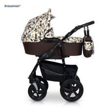 Krausman - Carucior Kraus Clasic Diamonds Brown